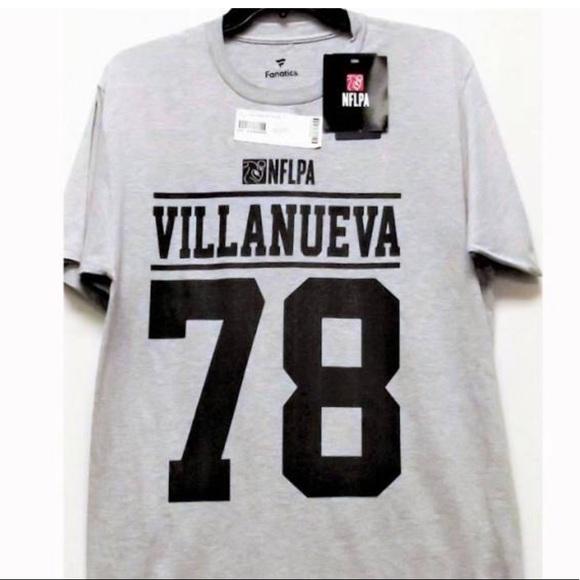 sports shoes 106d2 54f14 NFLPA Alejandro Villanueva T-shirt NWT